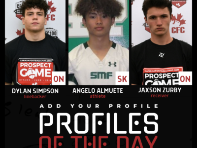 Profiles of the Day | November 3rd