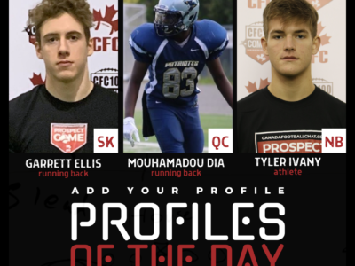 Profiles of the Day | November 11th