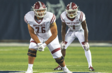 Path to the Draft: CFC40 OT Sage Doxtater