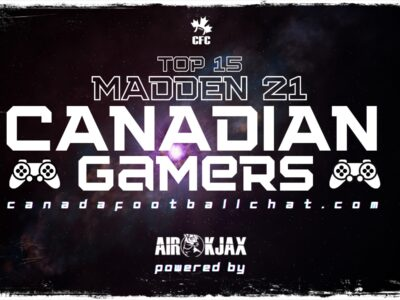 FEBRUARY UPDATE: Madden 21 Top 15 Canadian Gamers (Active Leaderboard)
