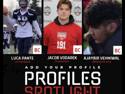 Profiles Spotlight | December 8th