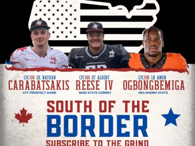 South of the Border: CFC Prospect Game CFC100s OT Reese IV and DE Carabatsakis make headlines