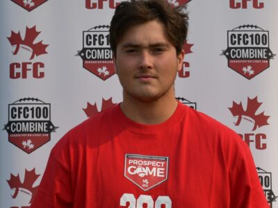 Season Feature: CFC100 LB Grant keeping busy on the recruiting trail