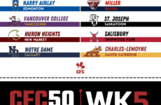CFC50 2021 High School RANKINGS (WEEK 5): Another top ten falls as Grant Park crashes the party in Manitoba