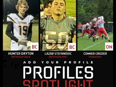 Profile Spotlight: Athletic defensive end out of British Columbia