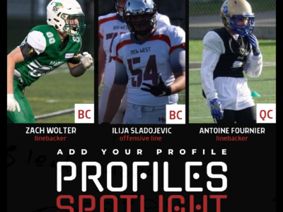 Profile Spotlight: Quebec LB leading the charge at top five CFC25 program