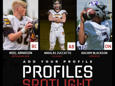 Profile Spotlight: Rangy receiver from Alberta balling out