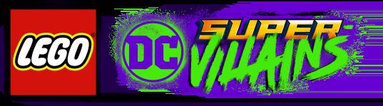 Resultado de imagem para lego dc super villains logo png