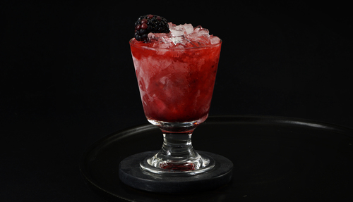 blackberry cocktail photo