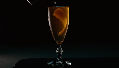 cognac cocktail photo