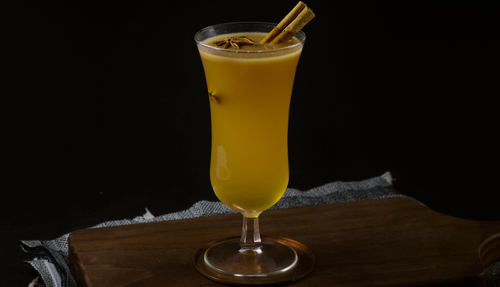 Hot Buttered Rum cocktail photo