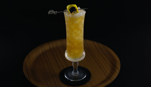 passionfruit syrup cocktail photo