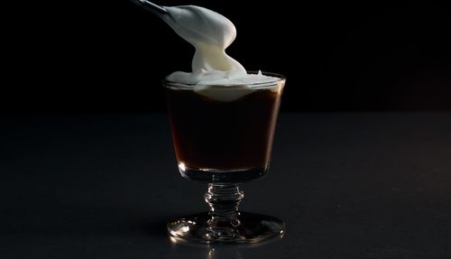 cream cocktail photo