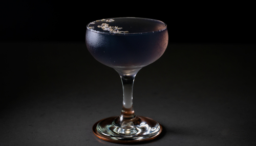 creme de violette cocktail photo