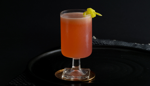 raspberry cordial cocktail photo