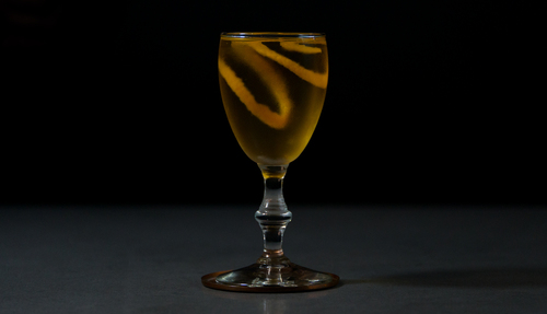 gold rum cocktail photo