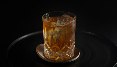 aged rum cocktail photo