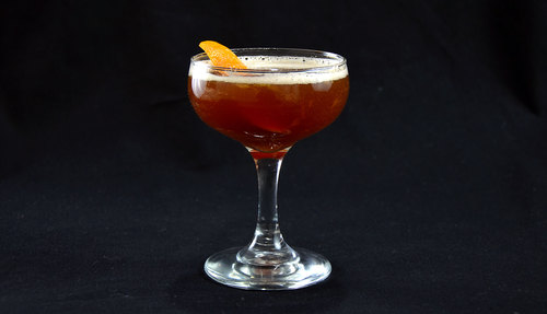 Blood and Sand cocktail photo