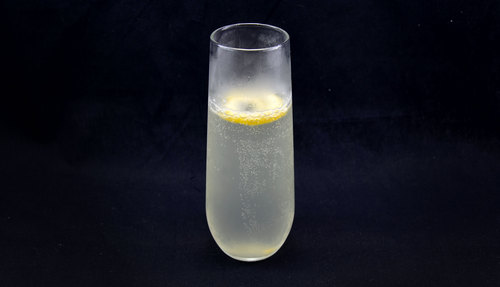 French 75 cocktail photo