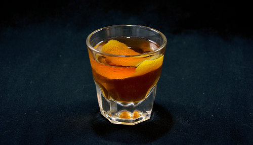 Sazerac cocktail photo