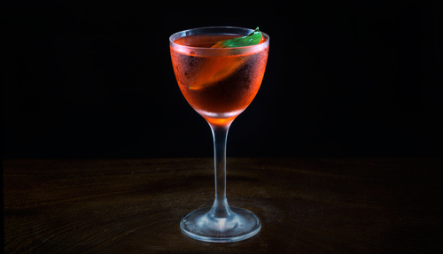 basil cocktail photo
