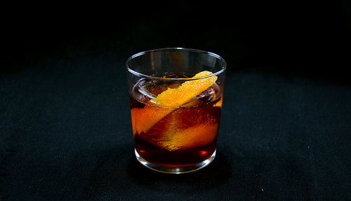 rye cocktail photo