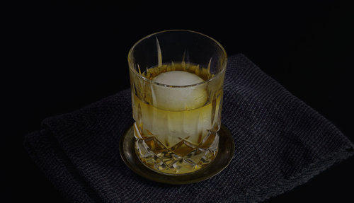Scotch & Coconut cocktail photo