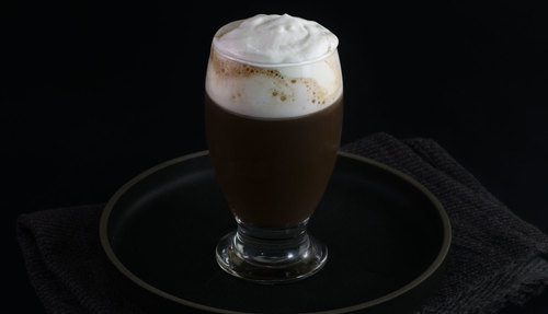 chocolate cocktail photo