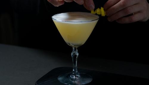 White Lady cocktail photo