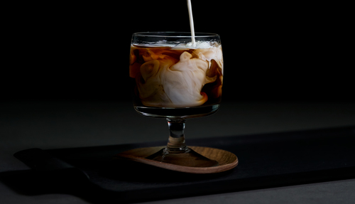 White Russian cocktail photo