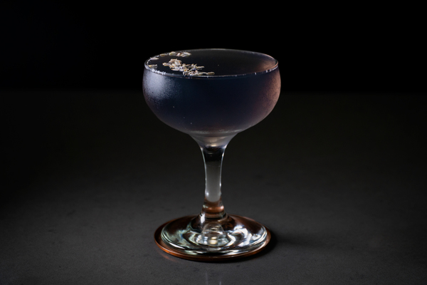 Lavender Lady cocktail photo