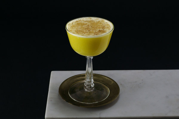 Rum Flip cocktail photo