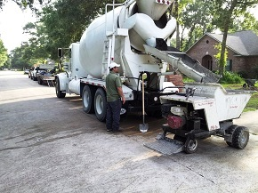 Concrete Delivery Houston TX