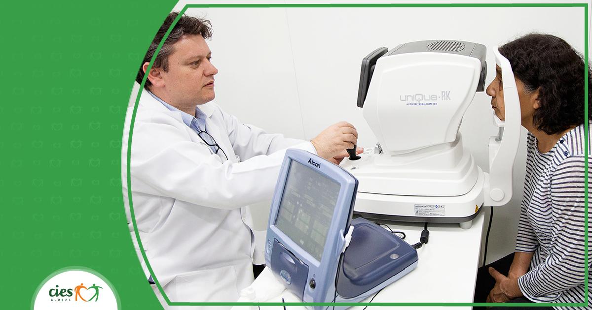 Unidades do CIES detectam 9 mil casos suspeitos de glaucoma