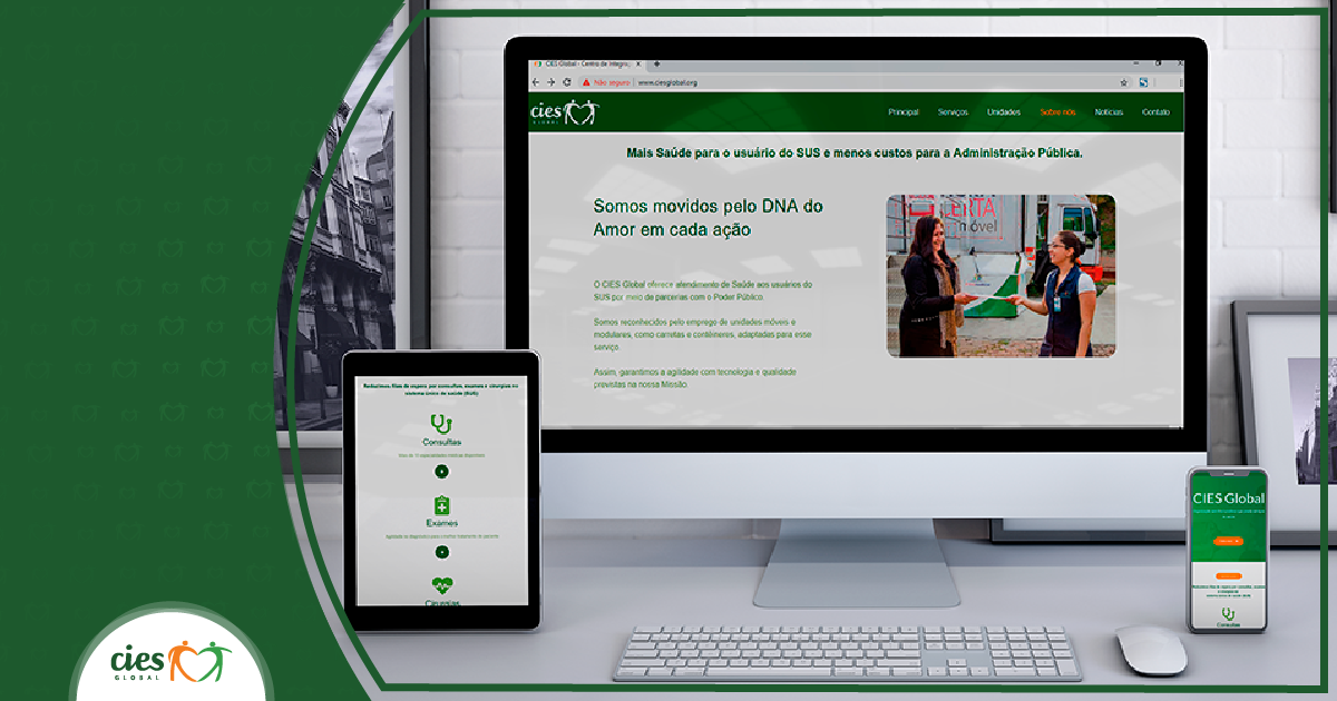 CIES lança site novo