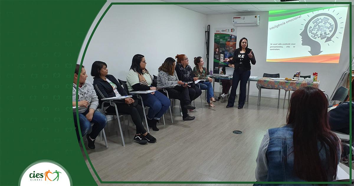 Equipes CIES promovem reflexão sobre inteligência emocional