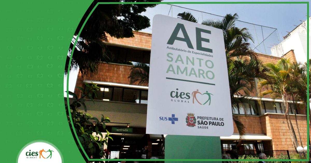 AE Santo Amaro aumenta oferta de consultas de especialidades
