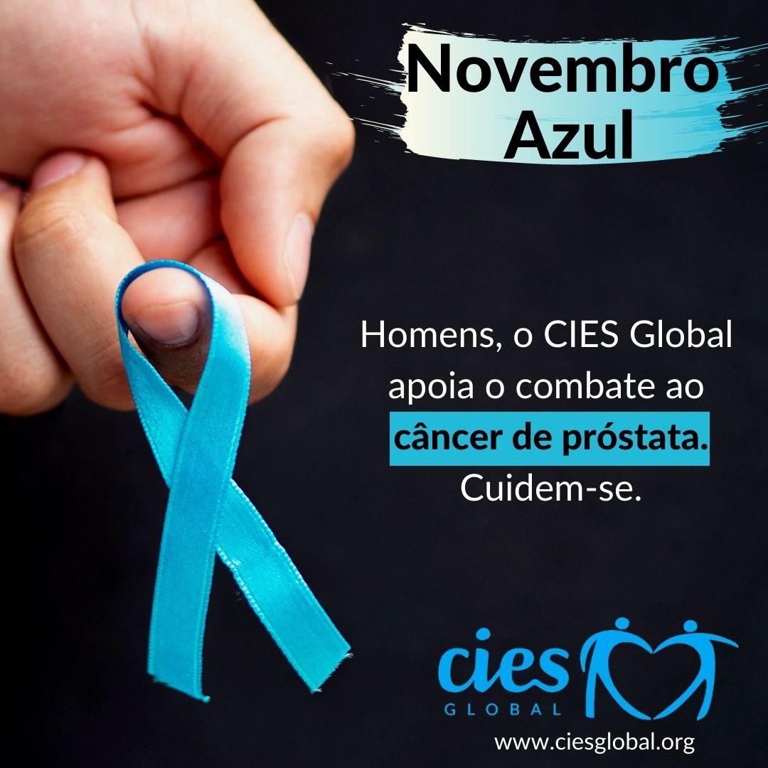 CIES Global apoia o Novembro Azul e auxilia no combate ao câncer de próstata