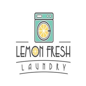 Lemon Fresh Laundry  Logo