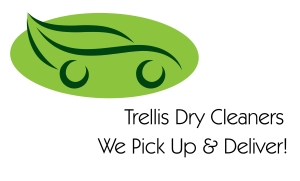 Trellis Dry Cleaners Logo