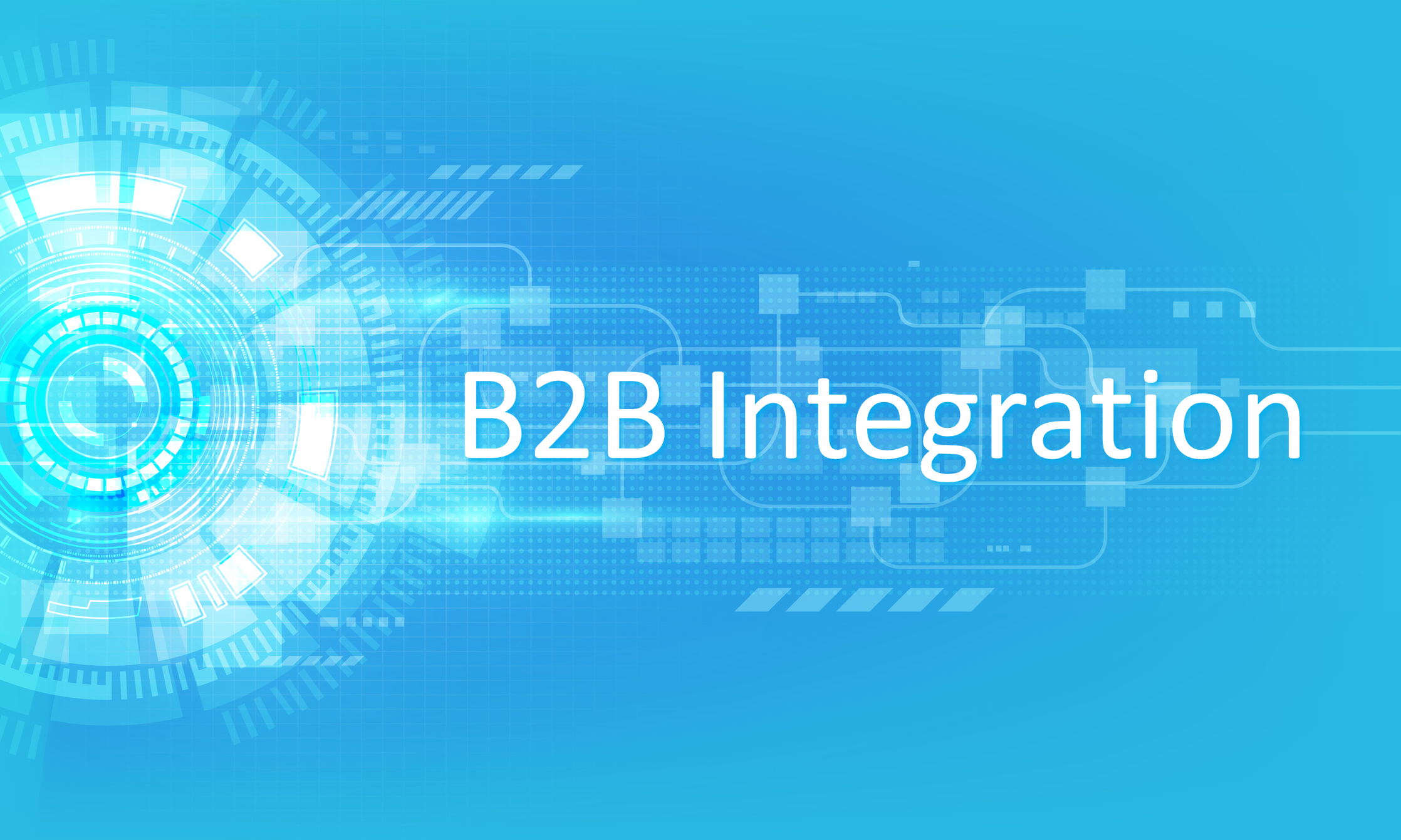 Business-to-business (B2B) integration technologies are increasingly in demand