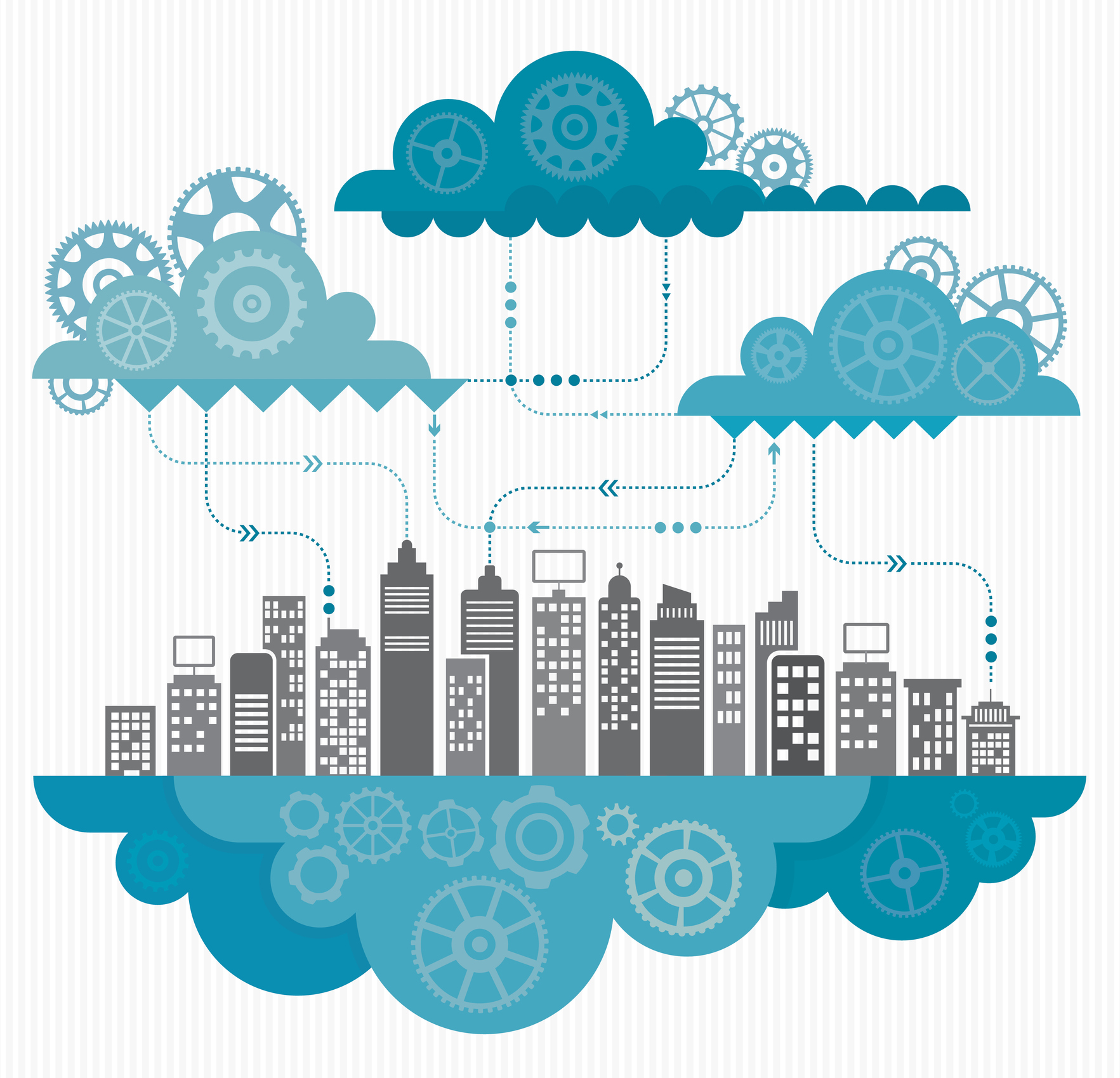 There are a number of fundamental differences between an on-premises and a cloud environment