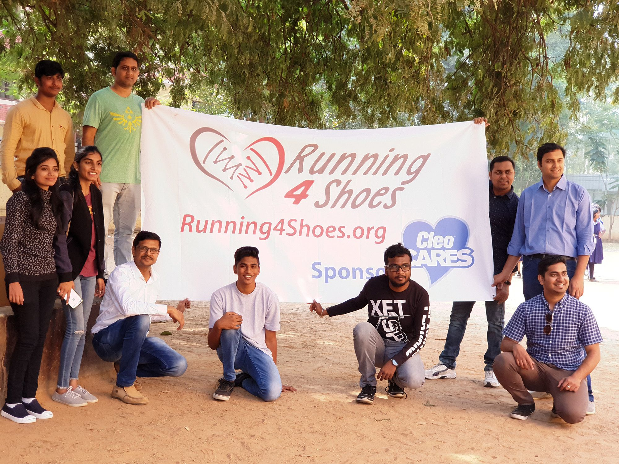 Cleo Cares 2018: Running4Shoes