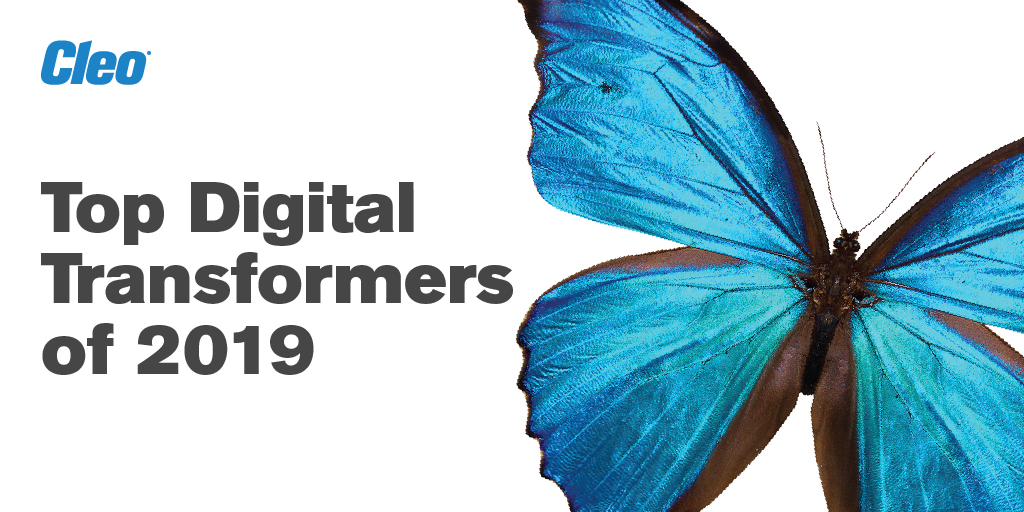 Cleo Top Digital Transformers of 2019
