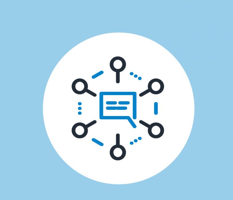 Network notification business communication technology