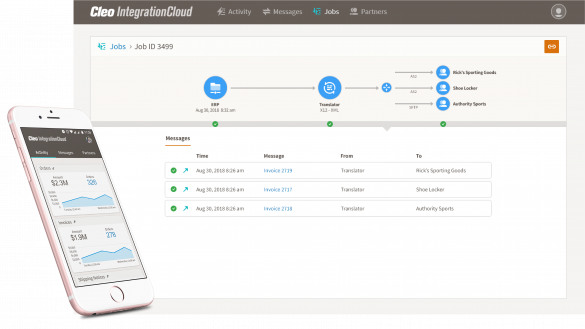Cleo Integration Cloud Modern Integration for B2B, Application Integration