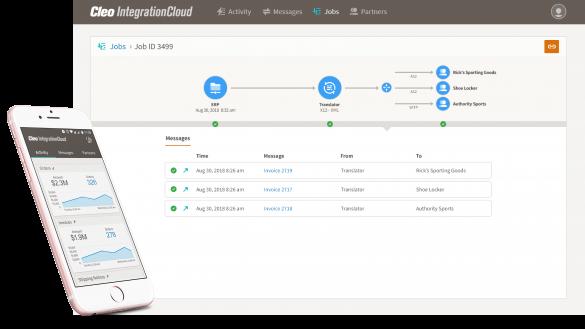 Cleo Integration Cloud Modern Integration for B2B, Application Integration