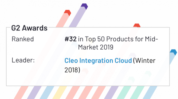 Cleo Integration Cloud Listed in G2 Crowd Awards