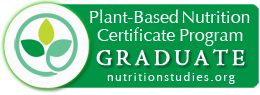 Plant-based Nutrition Certificate Badge