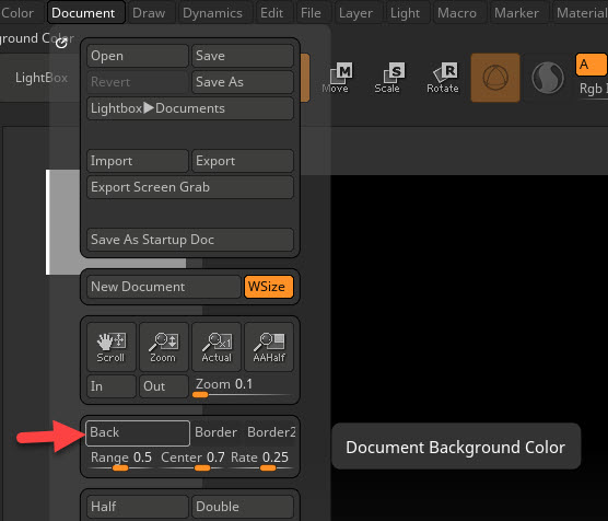 How To Change Canvas Background Color In Zbrush Cody Burleson